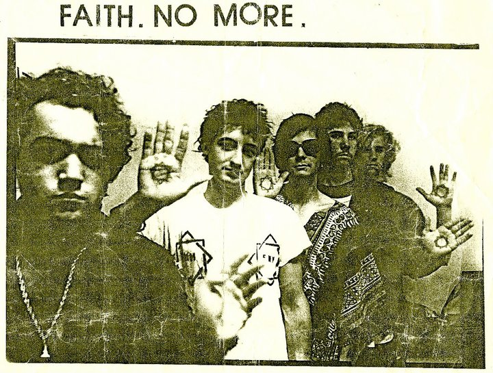 Faith. No More promo photo 1983