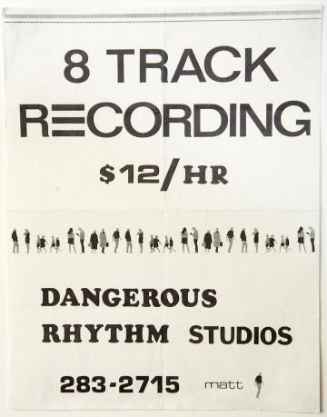Recording Studio flyer